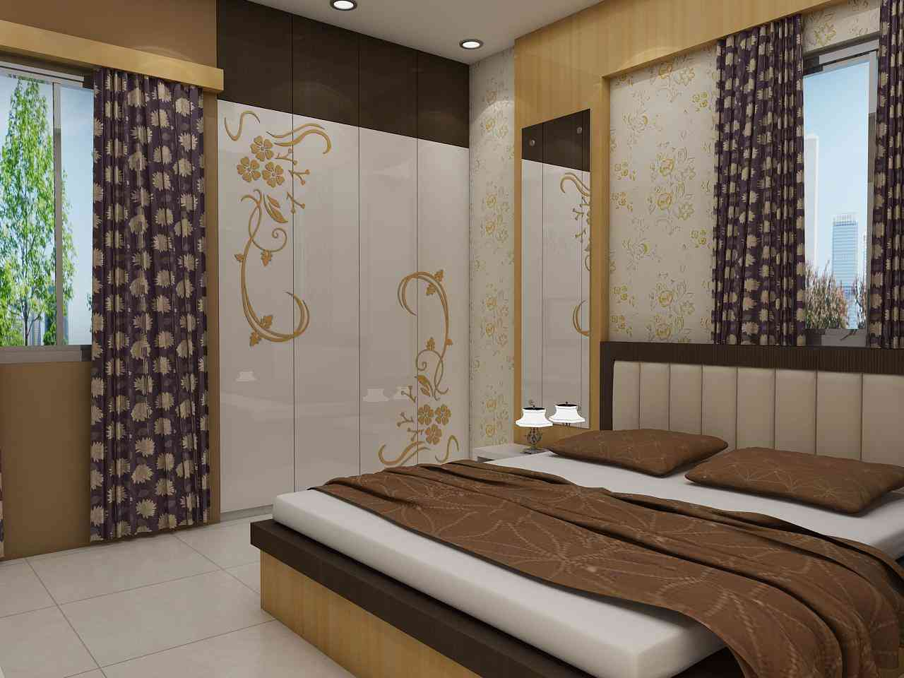 Wardrobe designs for Indian bedroom, Interior Design ...