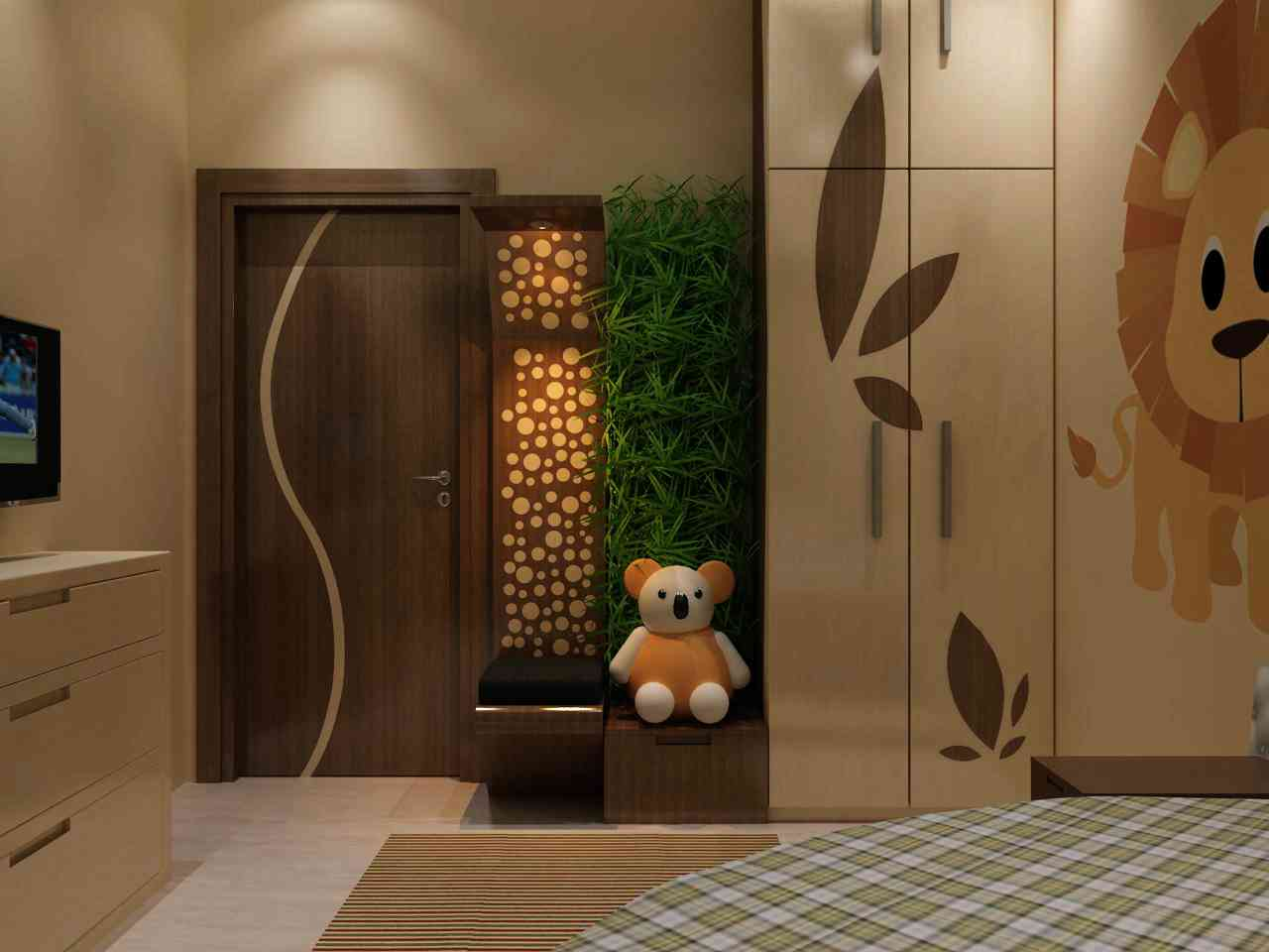 Door Designs for Bedrooms | Indian Bedroom Door Design Ideas