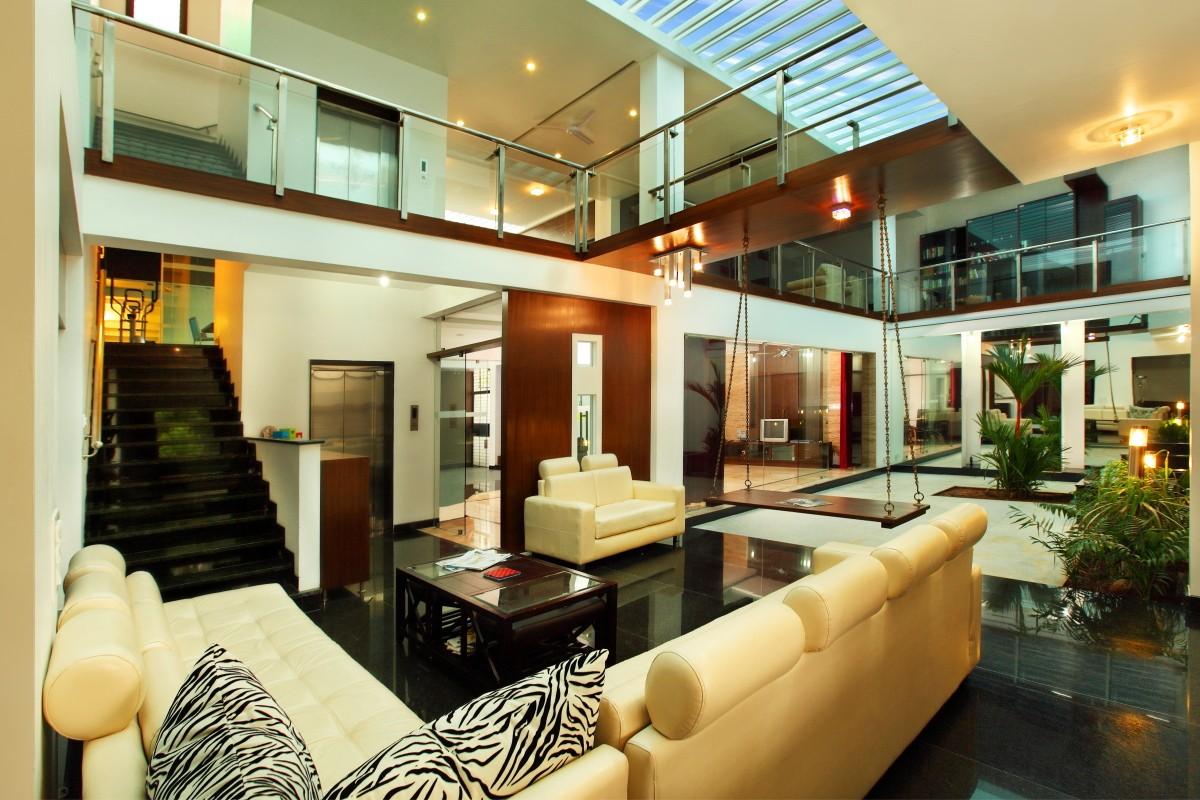 Jhoola interior design inspiration for Living room jhoola