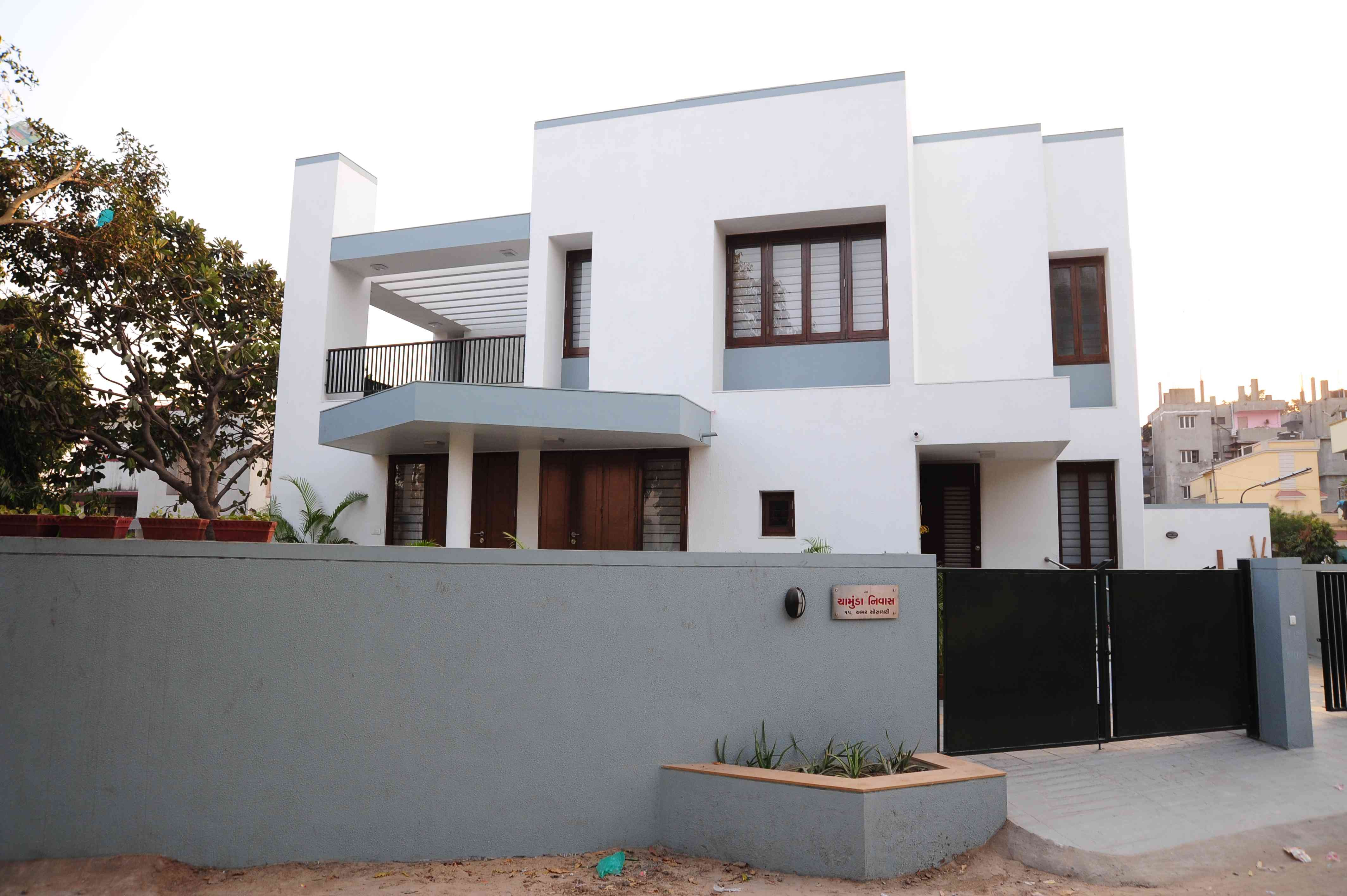 Boundary wall design interior design inspiration for Outer look of house