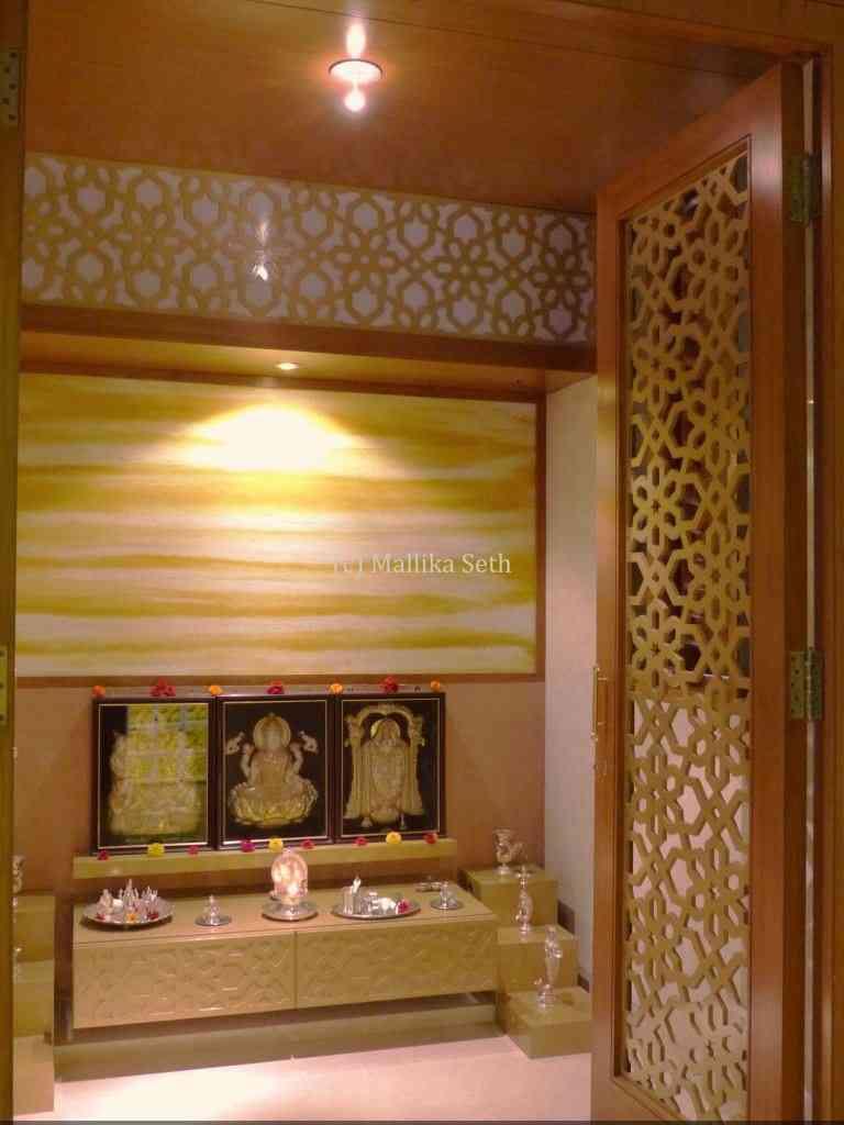 Pooja Room Door Design Photos, Pictures