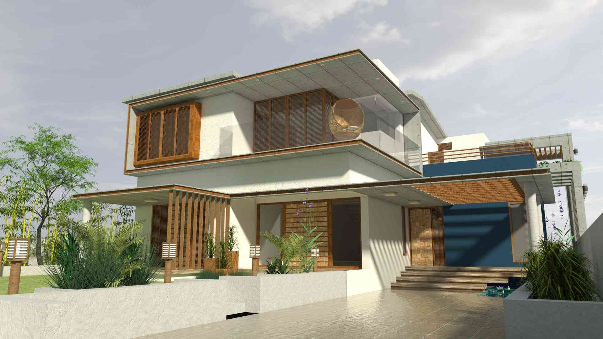 Home Exterior Designs, India, Home Exterior Design Ideas