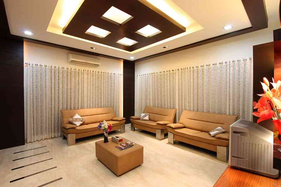 Interior Design For Living Room Roof