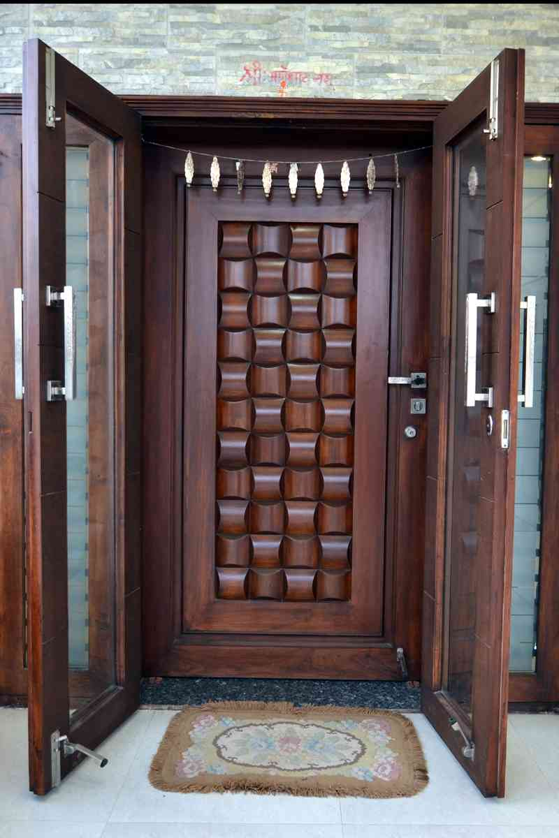 Modern door designs interior design inspiration for Traditional wooden door design ideas