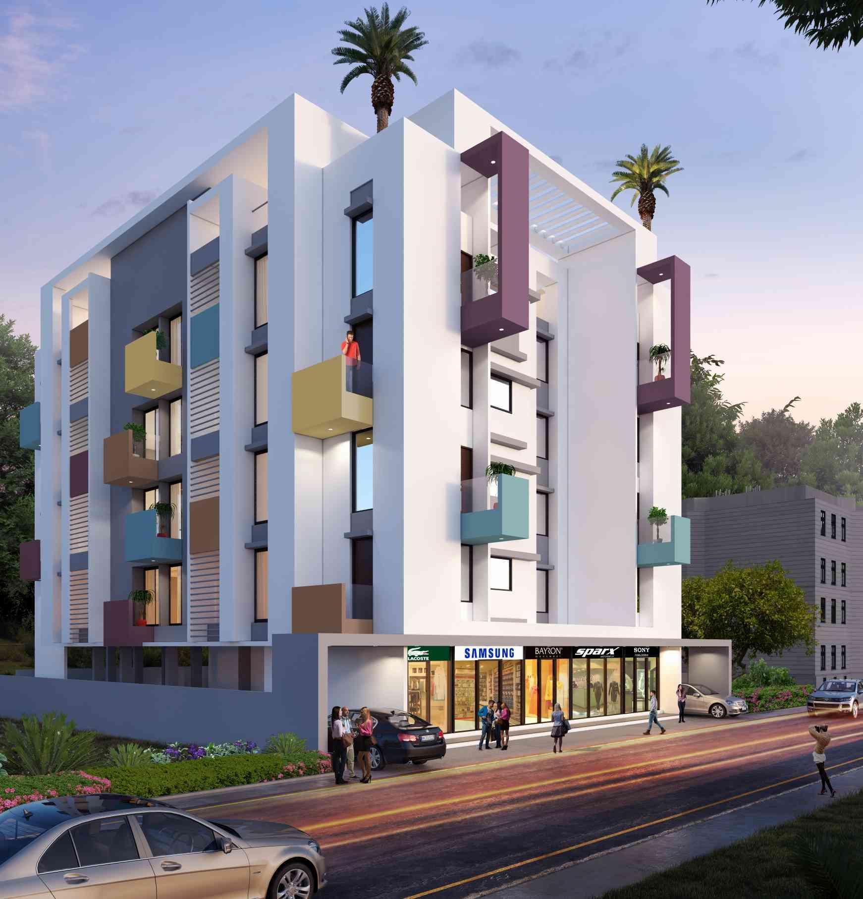 Building Exterior Designs , India