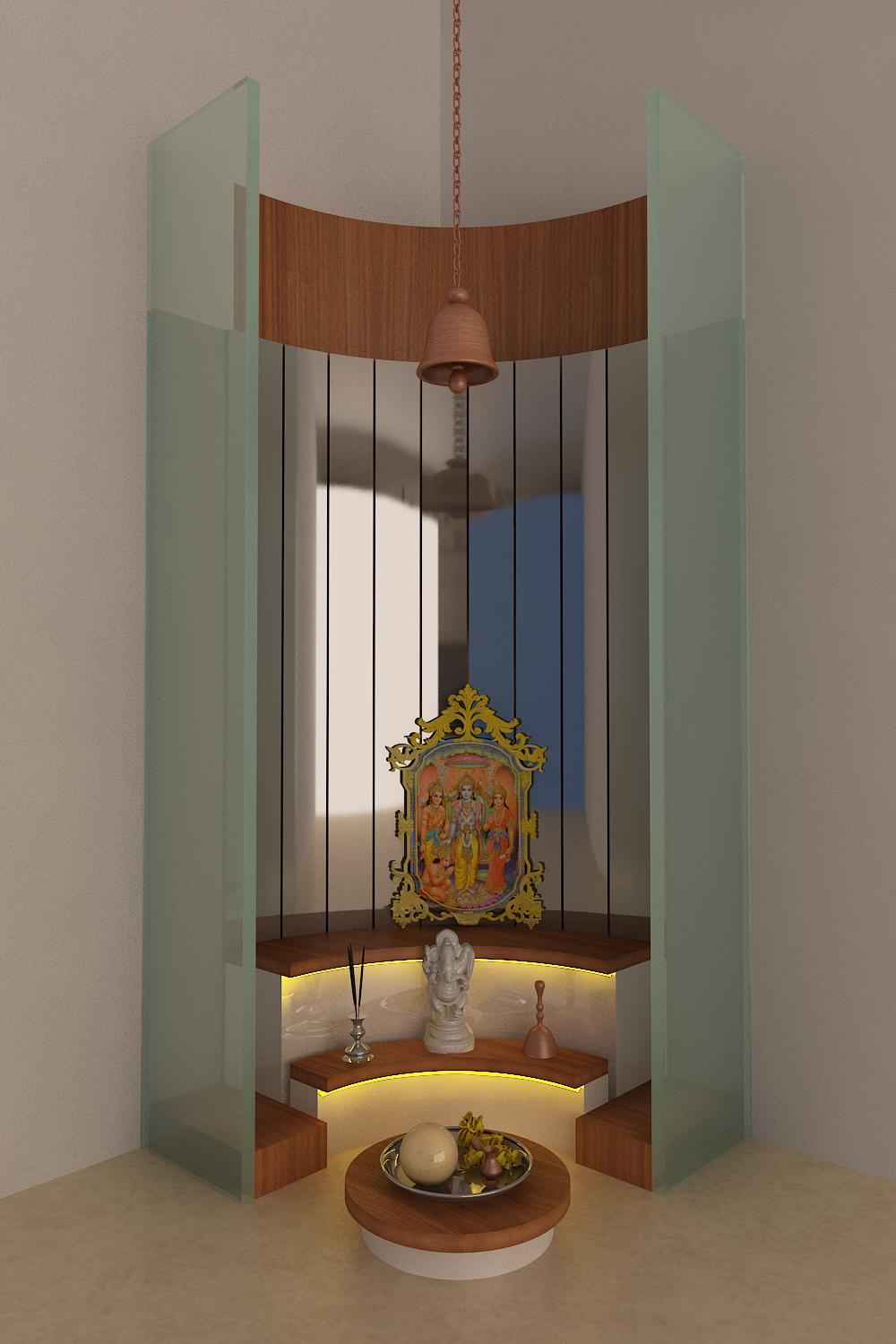Pooja Room Door Design Photos Pictures: Pooja Room Door Design Photos, Pictures