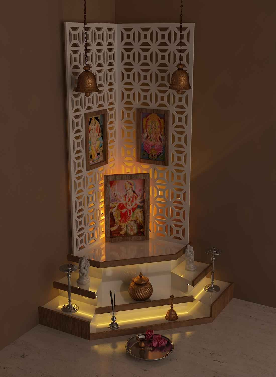 best temple design at home and ideas pictures interior design - Designer For Homes