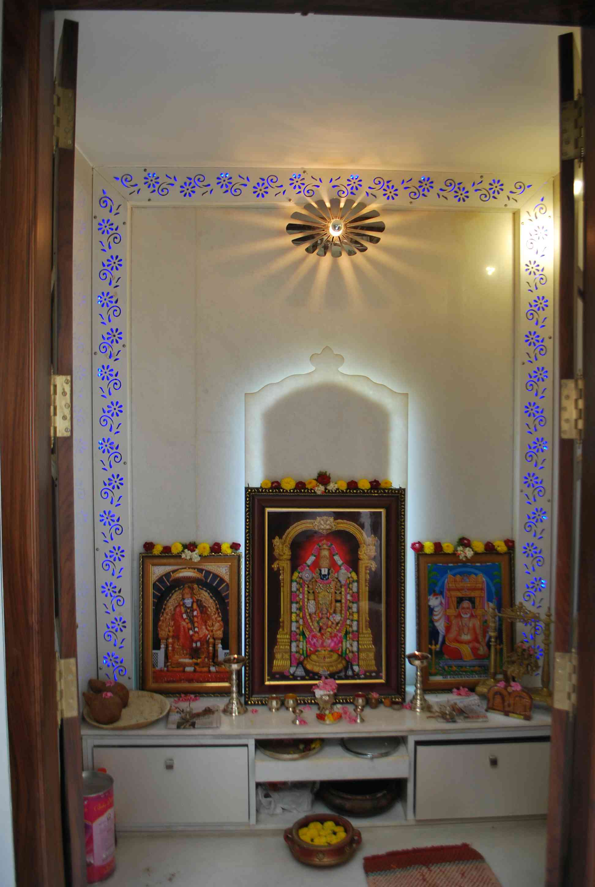 Pooja Room Door Design Photos Pictures: Pooja Room Interiors, Designs, Images, Design Ideas, Photos