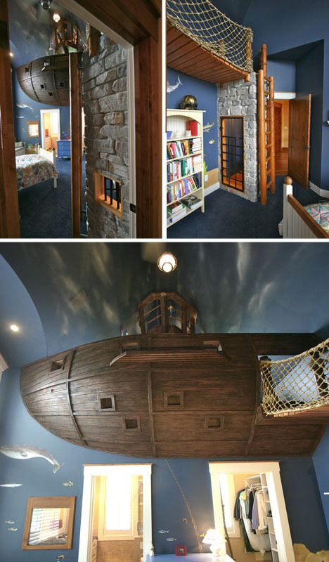 Pirate Ship Bedroom Set Design Ideas Pirate Ship