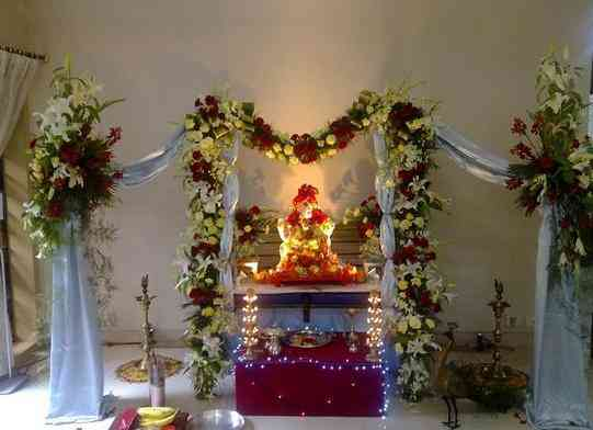 Homemade Ganpati Decoration Ideas Easy