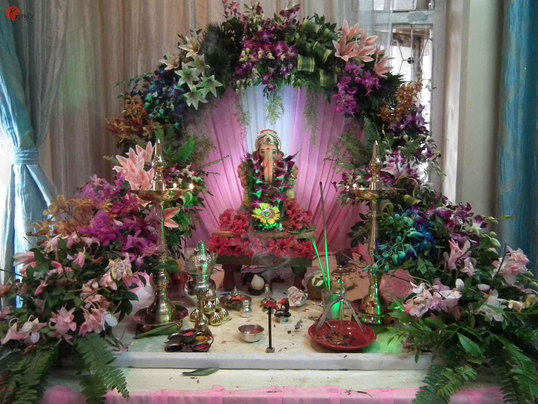 Other Similar Photos Ganpati Decoration Ideas at