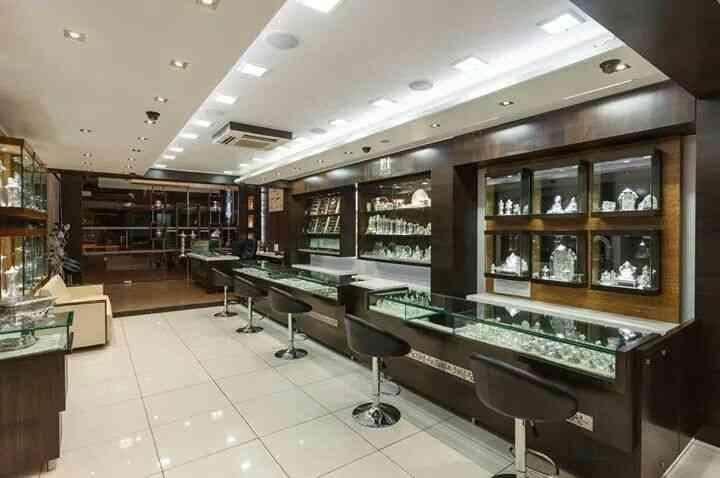 Jewellery shop interior design ideas photos images for Jewellery interior designs